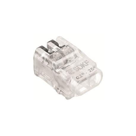 LIGADOR SDKF 2F TRANSP 24A 02-25mm2 FLEXSOLIDO