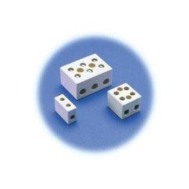 LIGADOR PORCELANA 3X2,5-6MM2 C/ 2 FUROS (128)