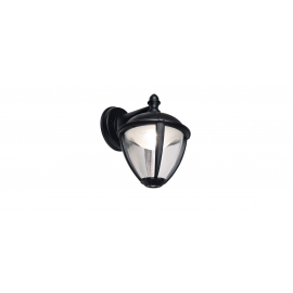 APLIQUE UNITE LED 9W 3000K 330Lm IP44 PRETO