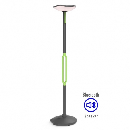 COLUNA SOLAR POPPY BLUETOOTH LED 8W 3000K IP54