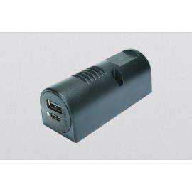 TOMADA CARGA DUPLA USB-CA 12-24 V DC 3,6A