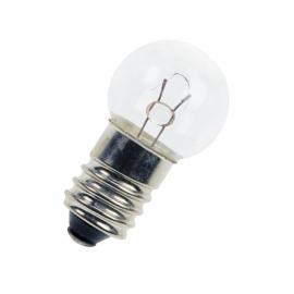 LAMPADA ESFERICA 6V E-10 G15X29 3W 500MA