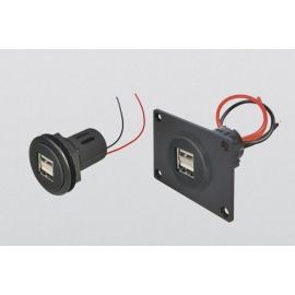 TOMADA DUPLA USB 12-24V5V DC (2x 2500mA)
