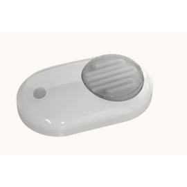 PLAFOND FLUORESCENTE ROUPEIRO C/INTERRUPTOR ON/OFF