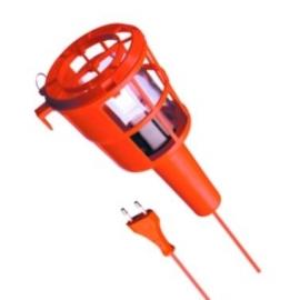 PLASTIC 60W E27 230V PRETO