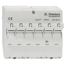 PATCH PANEL 6xRJ45 line21® PPR 6