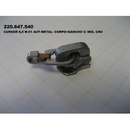 CURSOR 6,0 M-51 AUT-METAL- CORPO+GANCHO C/ MOL CRU