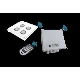 KIT JARDIM IP66 (1x cx + 4x timers + 2x controlos)