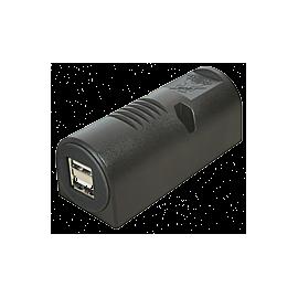 TOMADA DUPLA SALIENTE USB 12-24V5V DC 5000mA