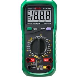 MULTIMETRO DIGITAL ET74CE10 CA/CC 10A C/TEMP