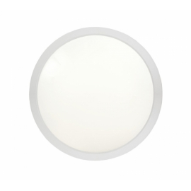 PLAFOND SATURN Power LED 230V BRANCO MATE