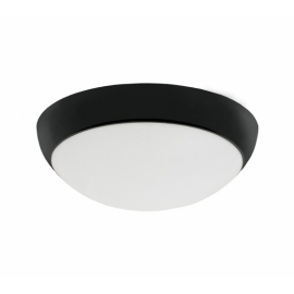 PLAFOND SATURN Power LED 230V PRETO MATE