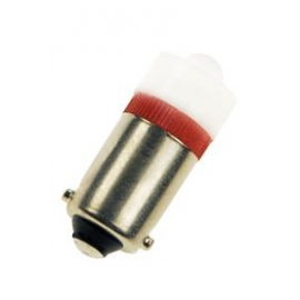 LAMPADA S. LED 24-28V AC/DC BA9S VERMELHO