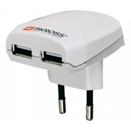 CARREGADOR DE VIAGEM SKROSS EURO USB 1300mA 5V