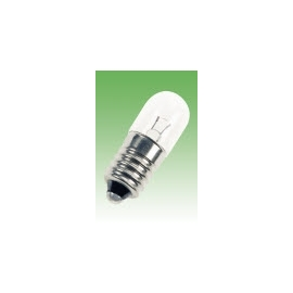 LAMPADA FILAMENTO 6,3V E-10 10X28 2W 320MA
