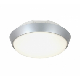 PLAFOND CORAL LED 10W 4000K IP44 IK10 ring prata