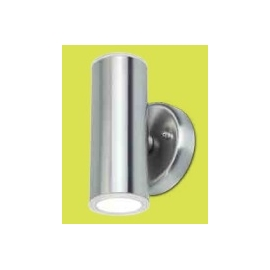 MINI SPOT PAREDE INOX ESCOVADO LUCA 18W LED IP44