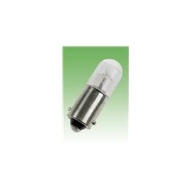 LAMPADA NEON 220V BA9S 10X28 PLASTICO CLARA