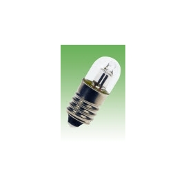 LAMPADA NEON 220V E-10 9X25 VIDRO CLARA
