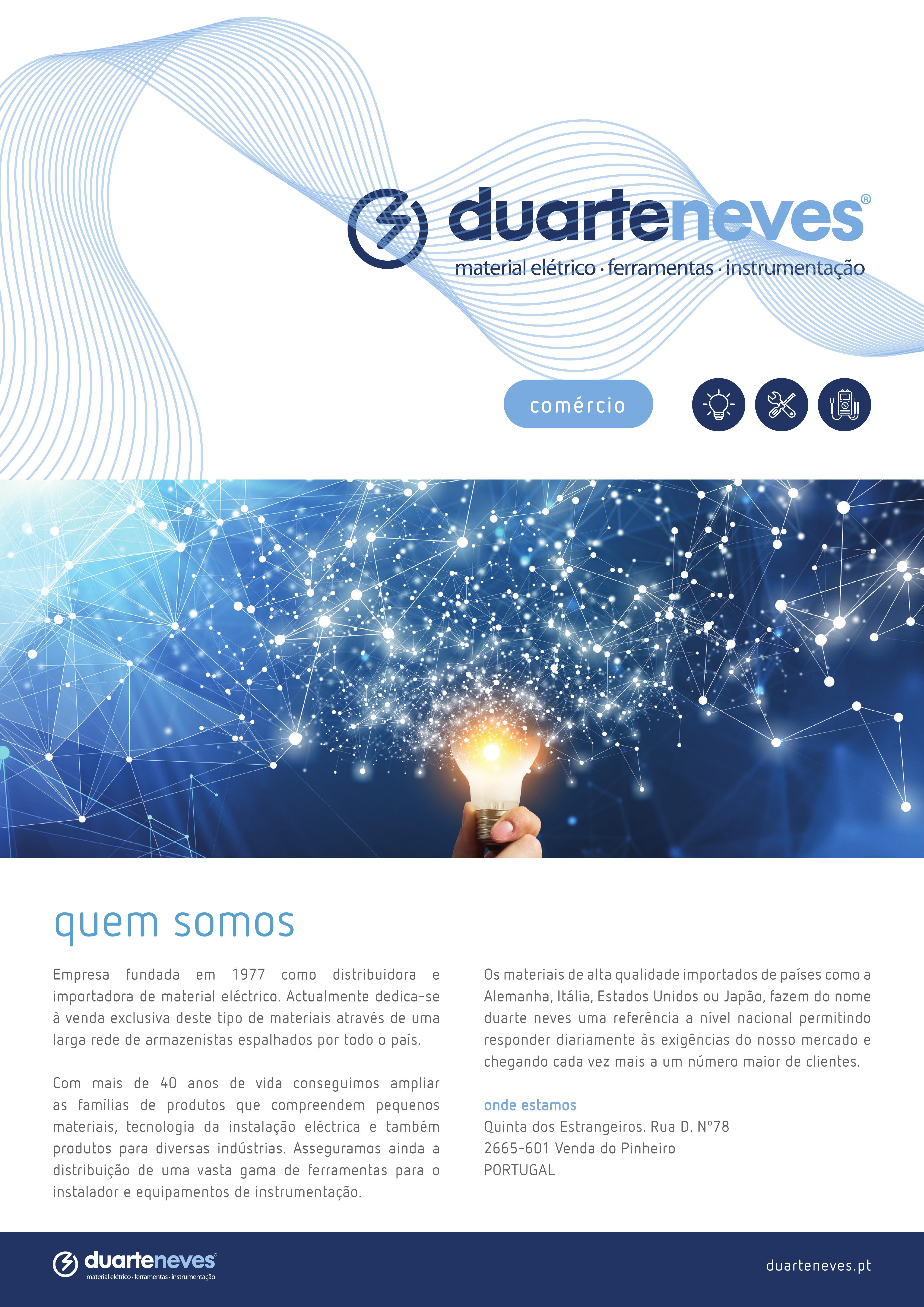 Presentation brochure Duarte Neves