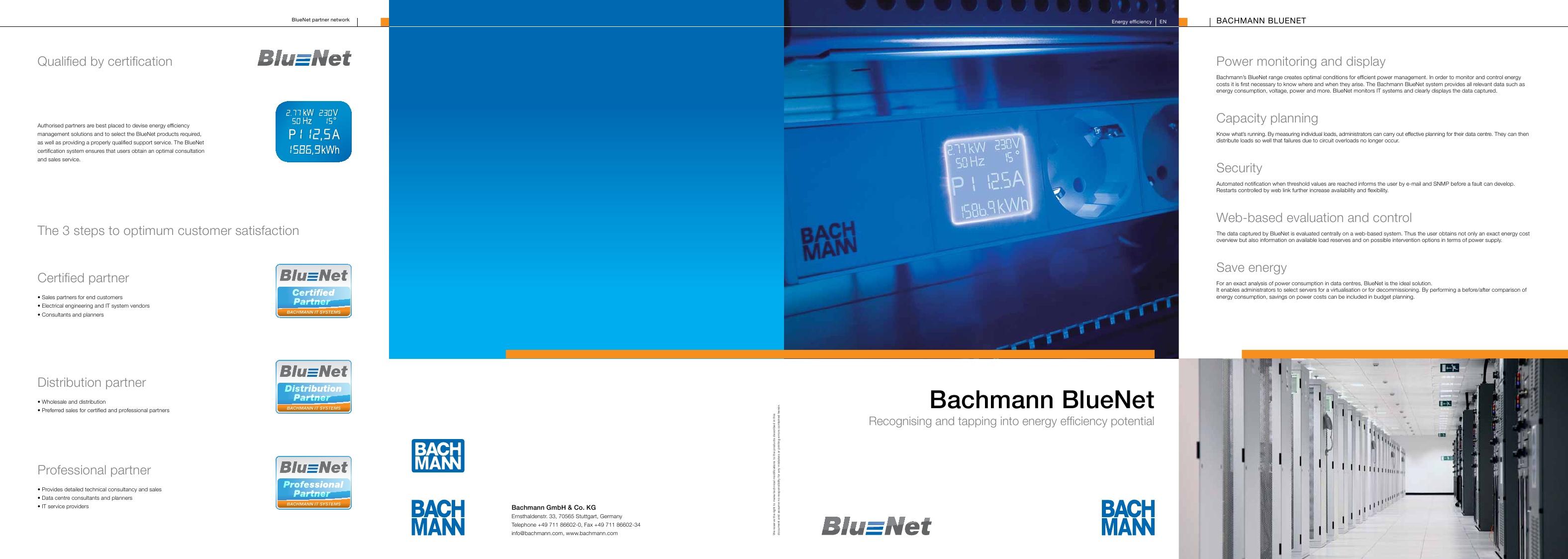 Folheto gama BlueNET