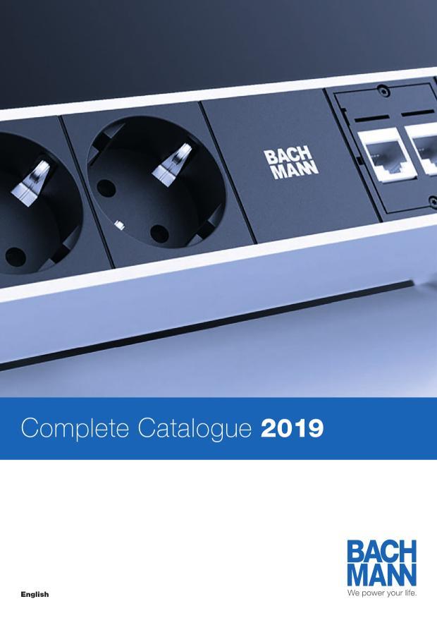 BACHMANN Complete Catalogue 2019