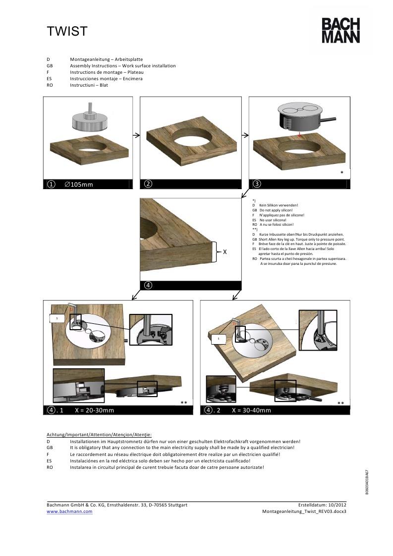 Leaflet assembly unit TWIST