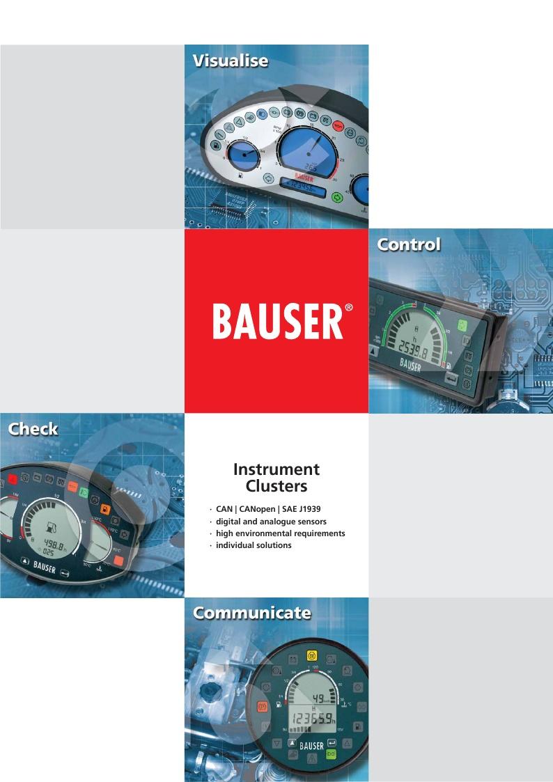 Instruments bauser