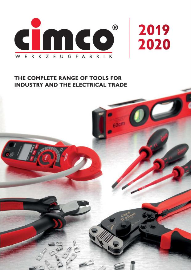 CIMCO Catalogue 2019-20