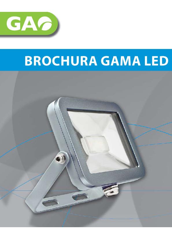 Brochura LED GAO