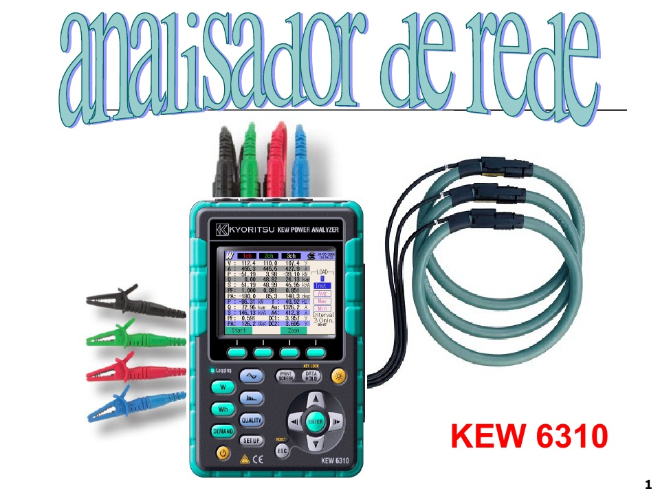 KEW6310 network analyzer