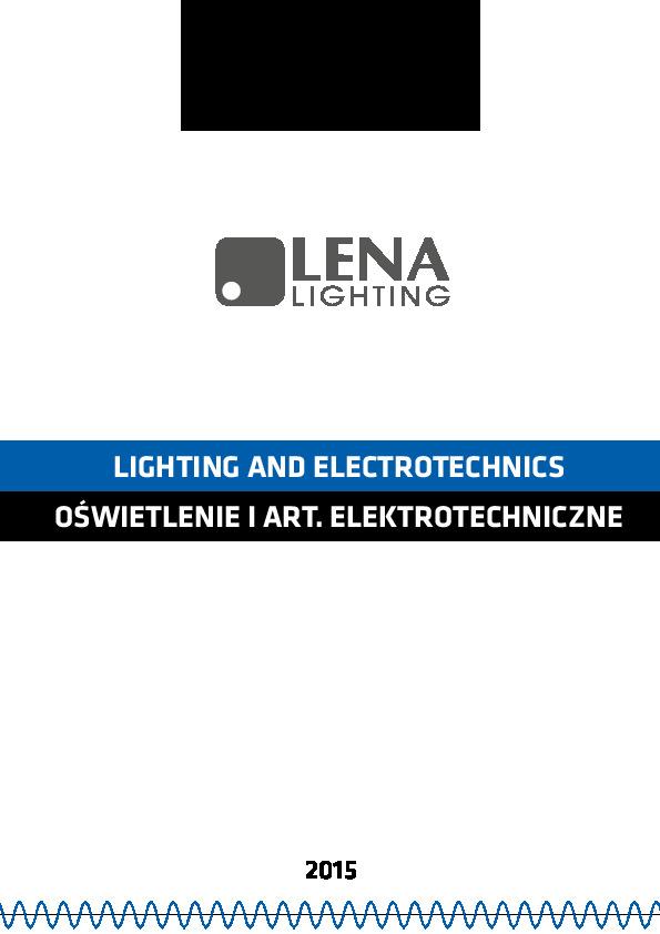 LENA_LIGHTING_CATALOGO_LIGHTING_AND_ELECTROTECHNICS_2015__IX_