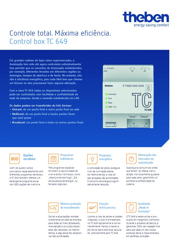THEBEN TC649 Control Box