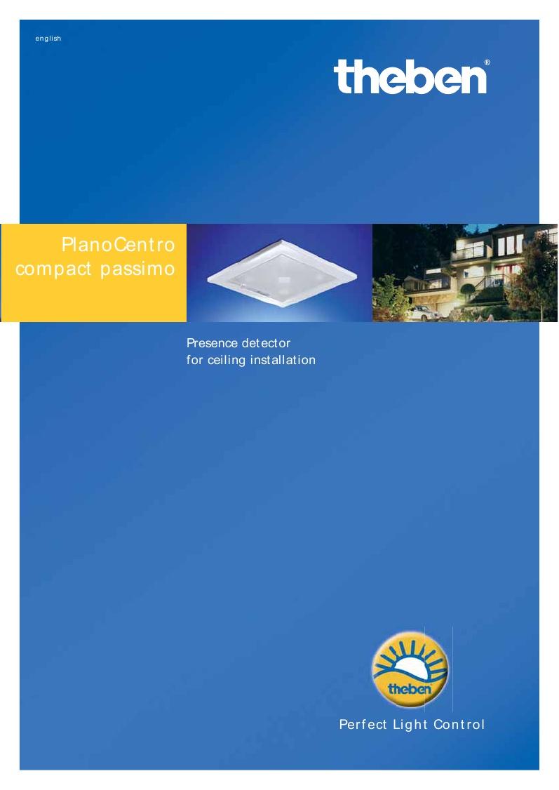 Brochura NOVO detector PLANO CENTRO 100 m2