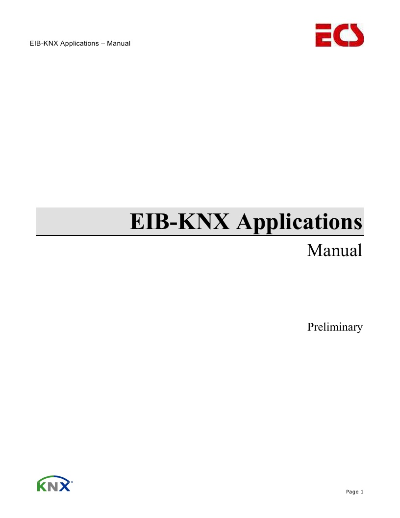 EIB_KNX_Applications