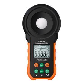 LUXIMETRO DIGITAL MULTI FUNC~OES 200k LUX ET6612L