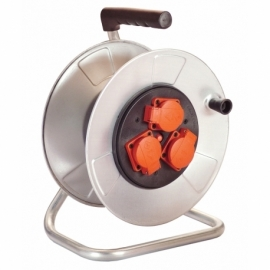 Metal cable reel 285mmØ empty for 50 m cable with