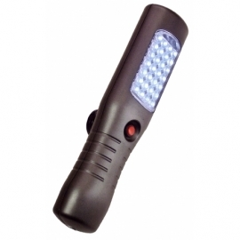 Rechargeable battery LED work light