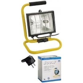 Hobby mobile light 150W, 2m H05VV-F 3G1,0 with bul