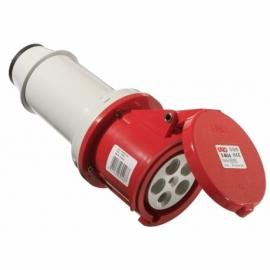 CEE-connector 63A, 5-pole, 6h