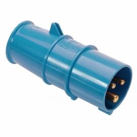 CEE plug 250V, 16A, 2PE