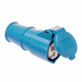 CEE-connector 16A, 2PE