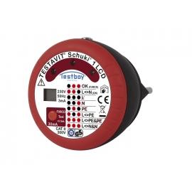 TESTAVIT SCHUKI 1 LCD 30 mA @ 230 V AC IP40