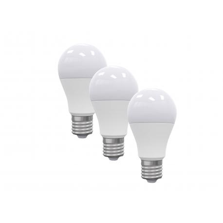 KIT 3PZ LAMPADA LED E27 5W 396LM 4000K 240^0 55*98m