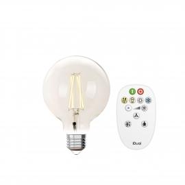 LAMPADA G95 E27 iDual BRANCOS filament-Clear + RC