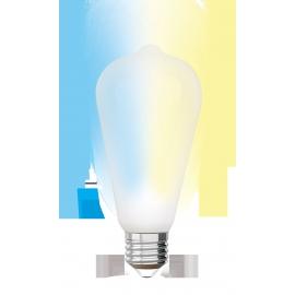 LAMPADA ST64 E27 iDual BRANCOS filament-Opal