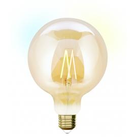 LAMPADA G125 E27 iDual BRANCOS filament-Amber