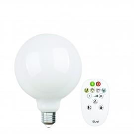LAMPADA G125 E27 iDual BRANCOS filament-Opal + RC