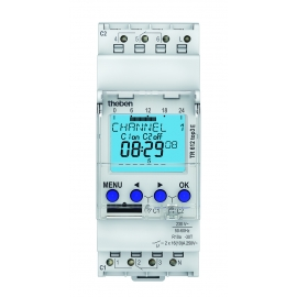 INTERRUPTOR HORARIO DIGITAL 2CAN 56M TR 612 top3 E