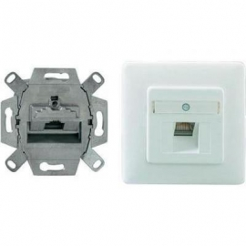 UAE-Cat.6A + CENTER + WALL PLATE
